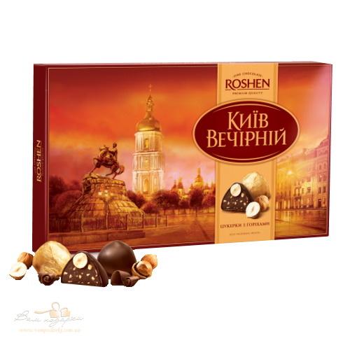 Конфеты в коробке Roshen «Киев вечерний», 176г
