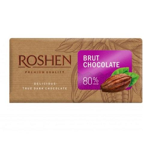 Шоколад «Roshen» BRUT 80%, 90г