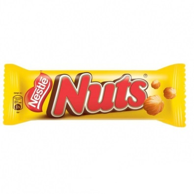 «Nuts» шоколадный батонNestle, 42г