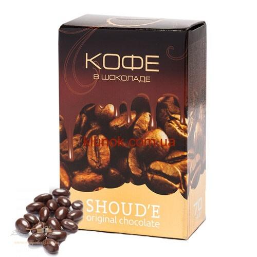 Кофейные зерна в шоколаде Shoud`e, 15г