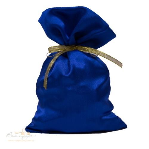 Подарунковий мішечок з креп-сатину бордовий, КС-2
