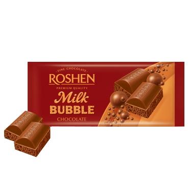 Шоколад «Roshen» пористий молочний, 85г