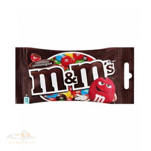 Драже «M&M's» молочный шоколад