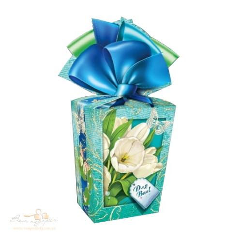 Подарочная упаковка «Тюльпаны» 858