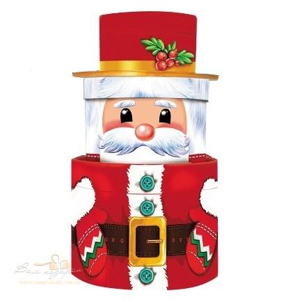 Новорічний тубус «Дід Мороз»