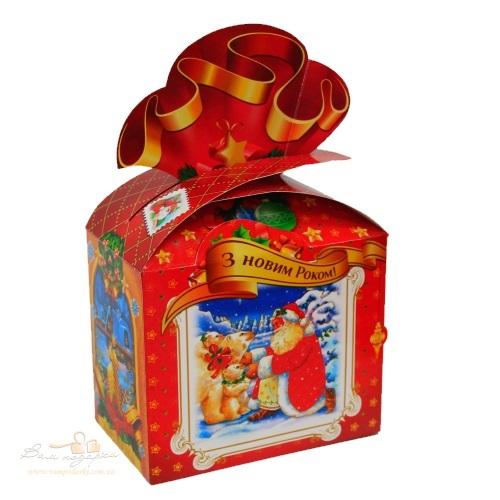 Новорічна упаковка «Бант»