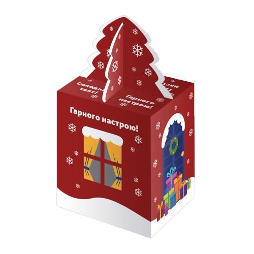 Новорічна упаковка «Будинок червоний»