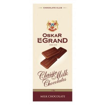 Молочний шоколад Oskar Le Grand Classik Milk, 82г
