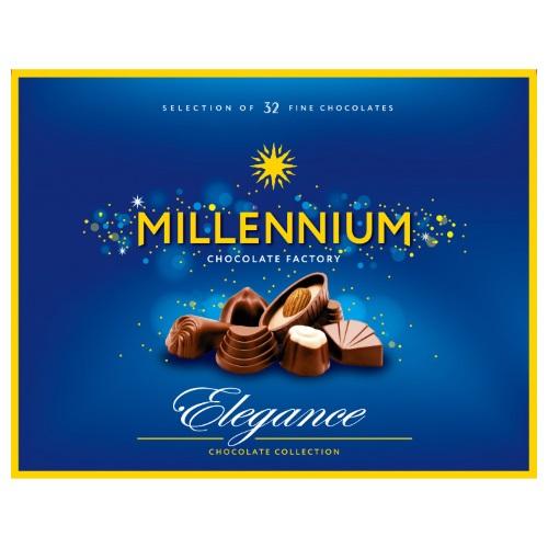 Цукерки в коробці Millennium Асорті Elegance в молочному шоколаді, 285г