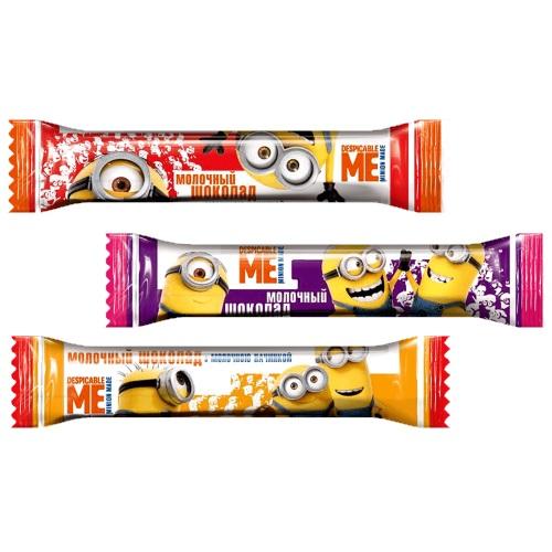 Шоколад «Любимов Kids» молочный с молочной начинкой, 12,5г