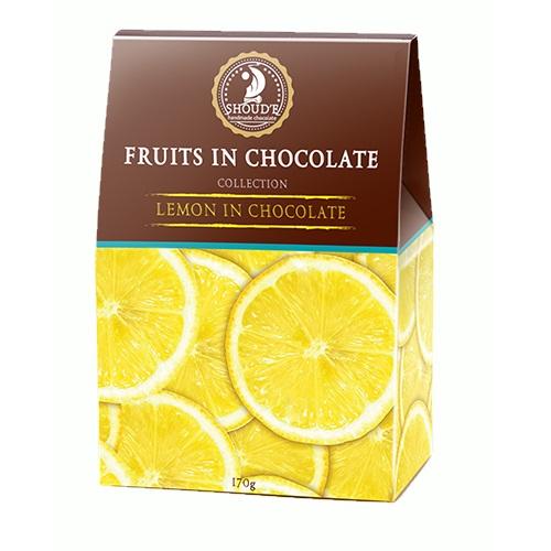 Конфеты в коробке Сладкий мир «Лимон в шоколаде», 170г