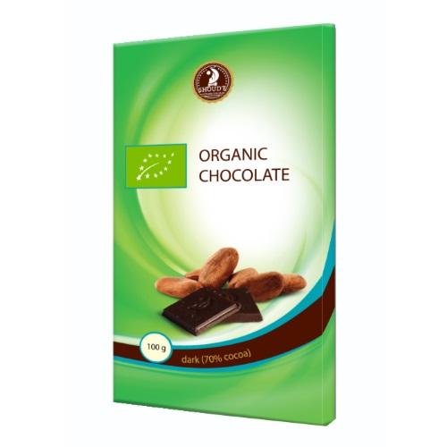 Шоколад органічний «SHOUD'E» чорний, 100г