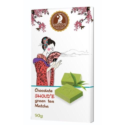 Шоколад «Зеленый чай Matcha», 90г