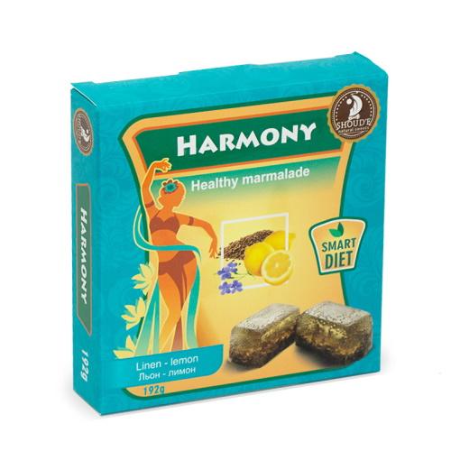Мармелад «Harmony» лен-лимон, 192г