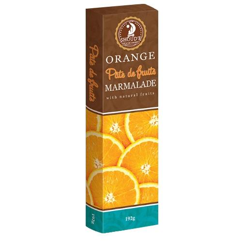 Мармелад «Pate de fruits» апельсин, 192г