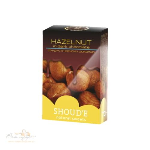 Цукерки (драже) «SHOUD'E» Фундук в шоколаді, 70г