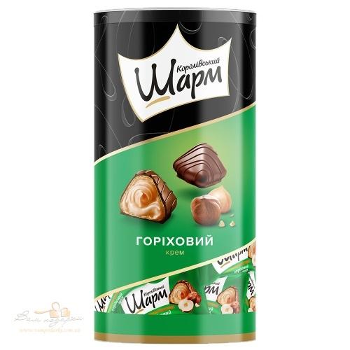 Цукерки в тубусі АВК «Королівський шарм» горіховий смак, 235г
