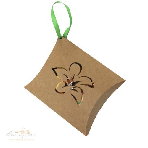 Подарунковий набір конверт Квітка 125г
