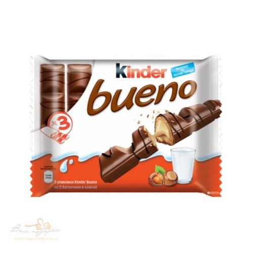 Kinder Bueno шоколадний батон, 129г