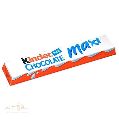 Kinder Maxi шоколадный батон, 21г