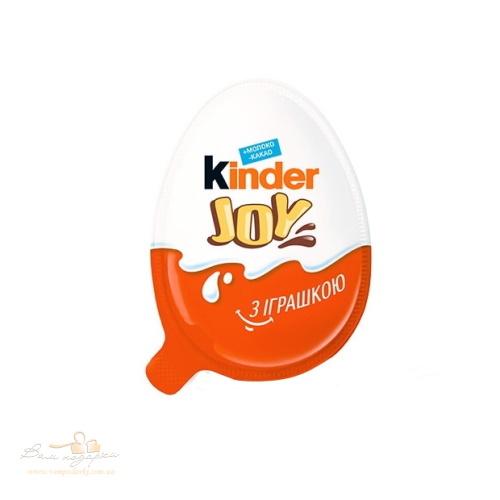 Упаковка яєць Kinder Joy з іграшкою