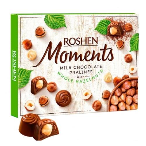 Цукерки в коробці Roshen «Moments», 116г