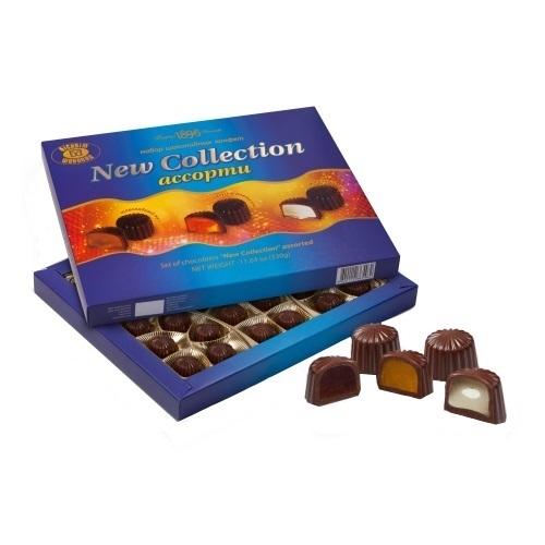 Конфеты в коробке ХБФ «New Сollection Ассорти», 330г