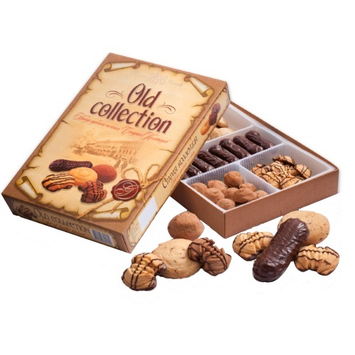 Печенье в коробке ХБФ «Old collection», 550г