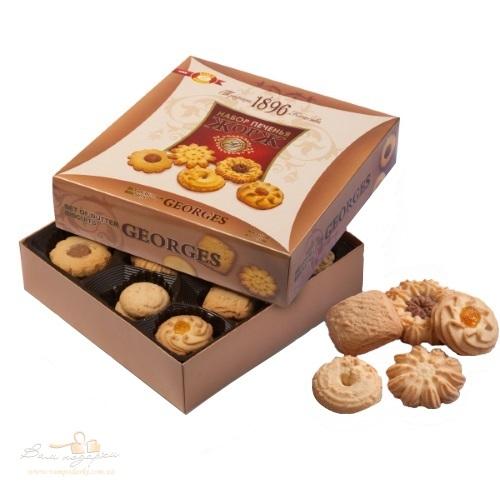 Печиво в коробці ХБФ «Georges»,  350г