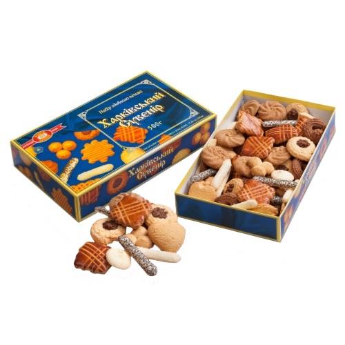 Печиво в коробці ХБФ «Харківський сувенир», 500г