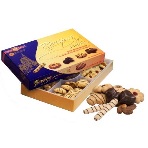 Печенье в коробке ХБФ «Вечерний кофе», 550г