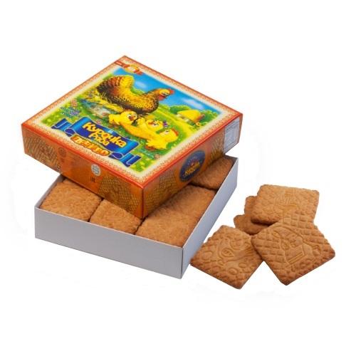 Печенье в коробке ХБФ «Курочка ряба»,  600г
