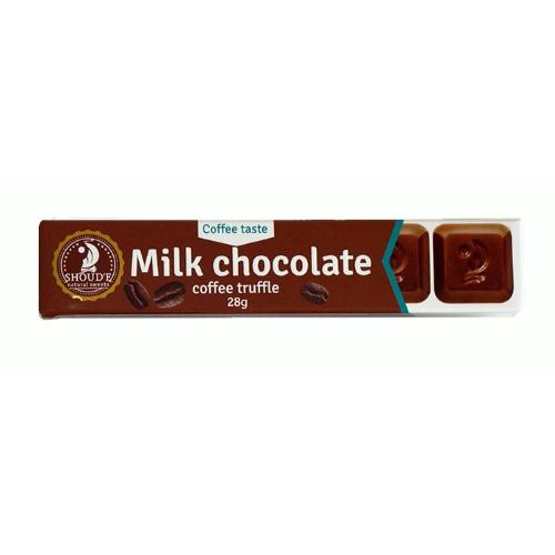 Шоколад молочний «SHOUD'E» кавовий трюфель, 28г