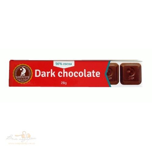 Шоколад черный «SHOUD'E», 28г