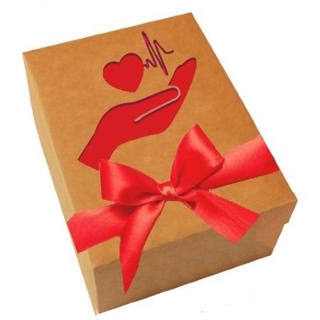Подарунковий набір Турботливе серце, 600г