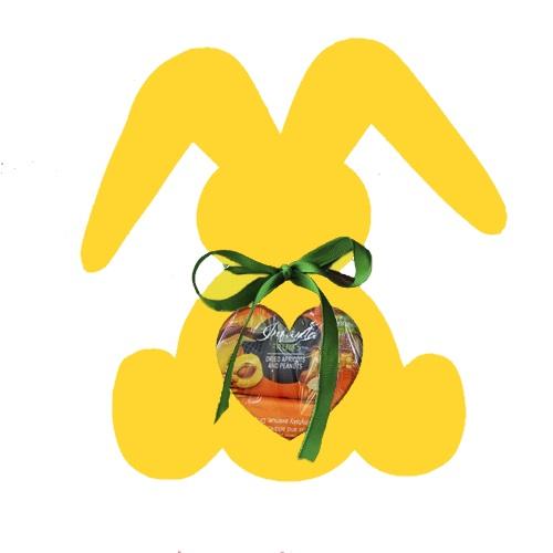 Подарочный набор Веселый зайка желтый, 200г