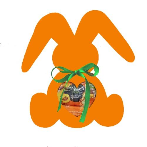 Подарочный набор Веселый зайка оранжевый, 200г