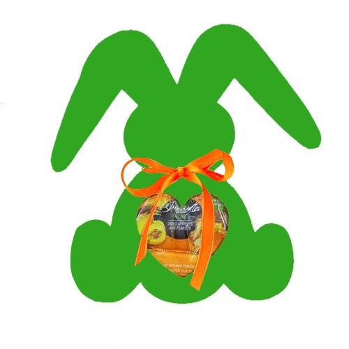 Подарочный набор Веселый зайка зеленый, 200г