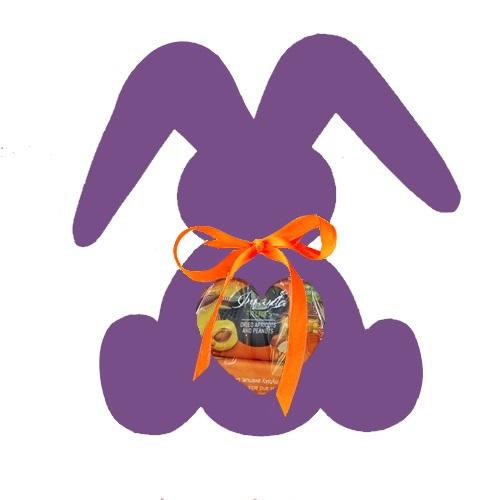Подарочный набор Веселый зайка  фиолетовый, 200г