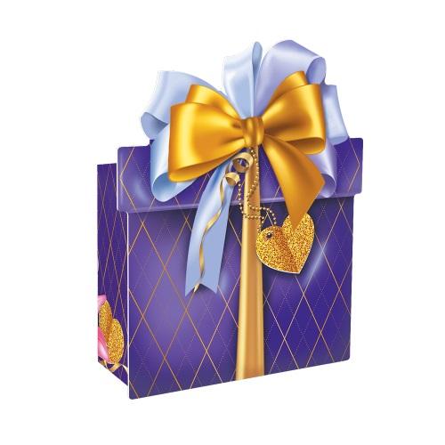 Подарочная упаковка «Комплимент» синий, 150г