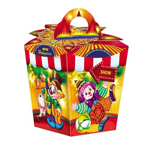 Новогодняя упаковка «Цирк»