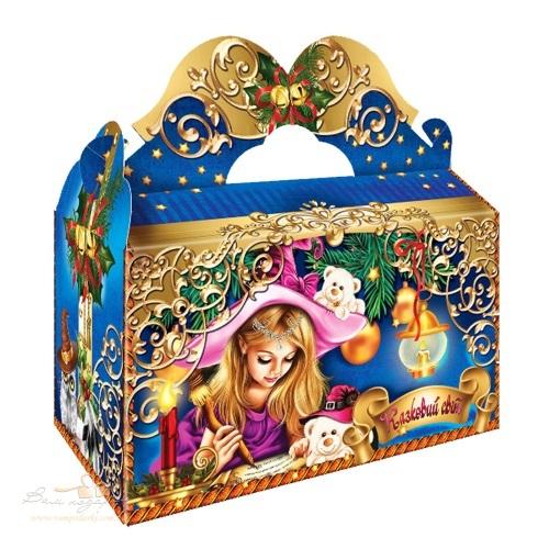 Новогодняя упаковка «Сказочный мир»