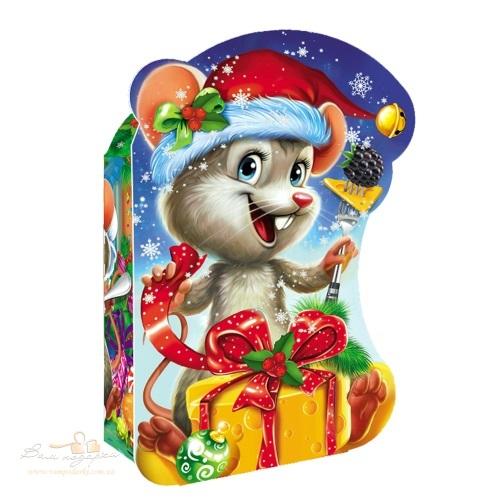 Новогодняя упаковка «Мышка», 600г
