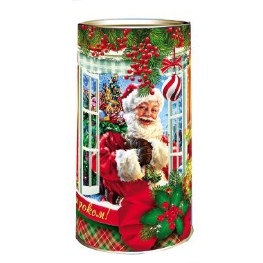 Новорічна упаковка «Тубус горобина»