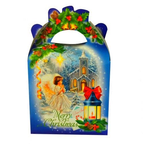 Новогодняя упаковка «Сумка Ангел ретро», 700г