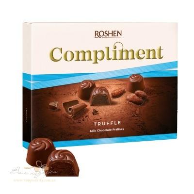 Цукерки в коробці Roshen «Compliment» Truffle, 120г