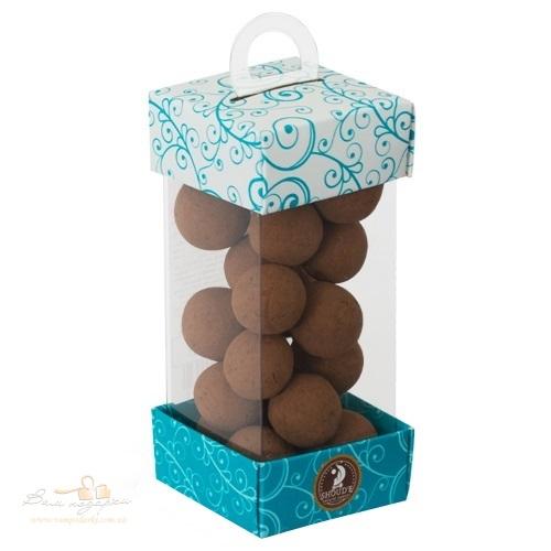 Цукерки (драже) «SHOUD'E» Фундук в шоколаді Тірамісу, 140г