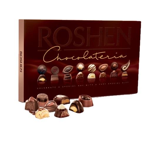 Цукерки в коробці Roshen «Chocolateria», 130г