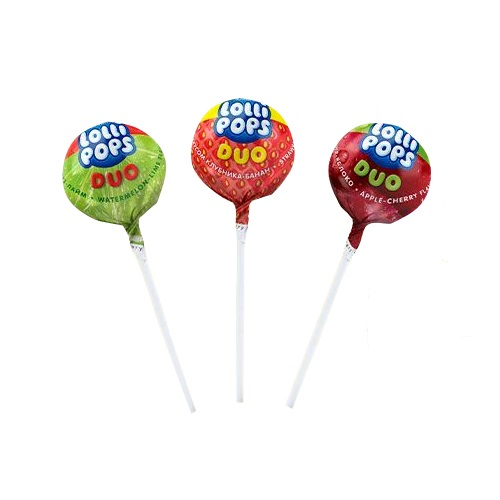 «Lollipops Duo» фруктовый микс Rochen