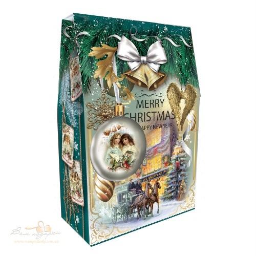 Новорічна упаковка «Сумка з шарами», 2000г